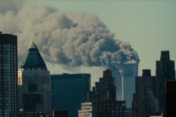 Northwich Guardian: A view of the World Trade Center post-attack. (Netflix)