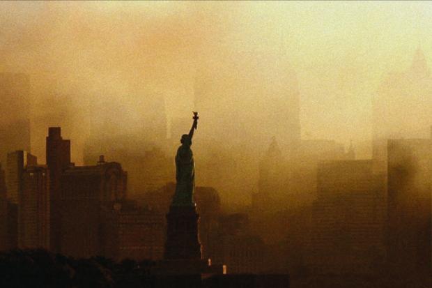 Northwich Guardian: New York City post-attack. (Netflix)