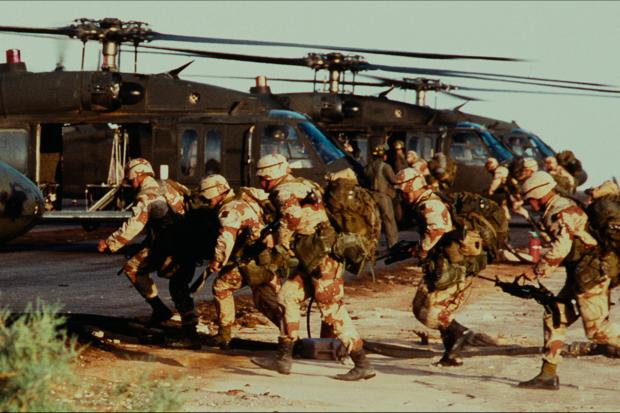 Northwich Guardian: US Forces prepare to invade Afghanistan. (Netflix)
