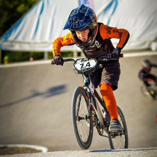 Jack on his BMX in action - Picture: Suzanne Mchugh/BMX Widow Photography