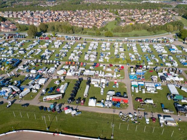 Northwich Guardian: An overhead look at Truckfest Peterborough - Picture: Terry Harris