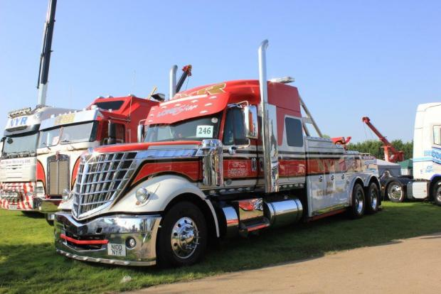 Northwich Guardian: Many different trucks will be on show at the event